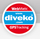 diveko® - WebMatic & GPS Tracking
